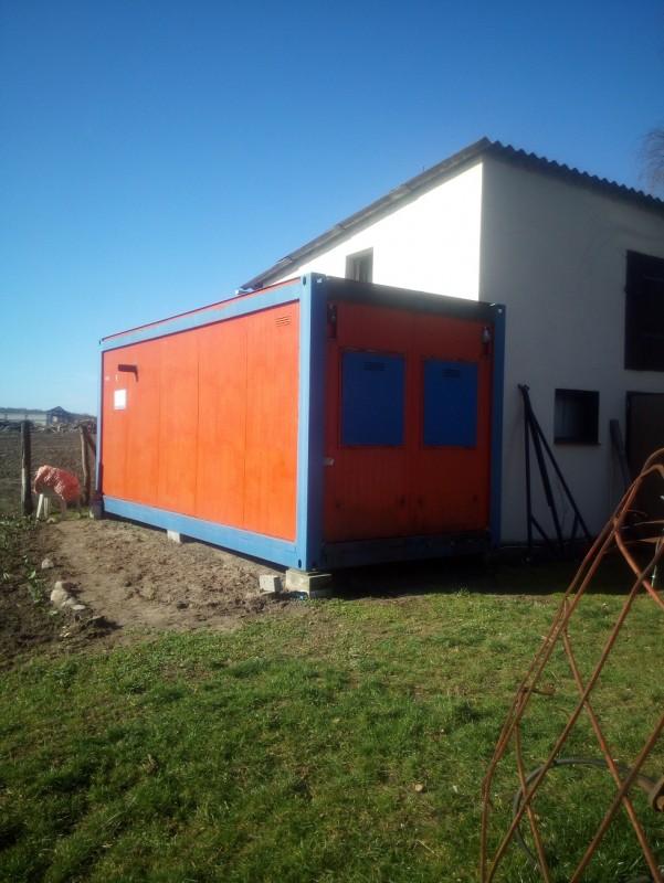 Nowoczesna architektura Kontener mieszkalny biurowy lub socjalny | Portal sadowniczy SC47